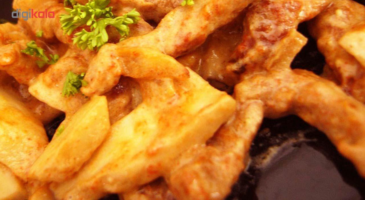 گوشت بیف استراگانف گوساله مهیا پروتئین مقدار 0.5 کیلوگرم main 1 5