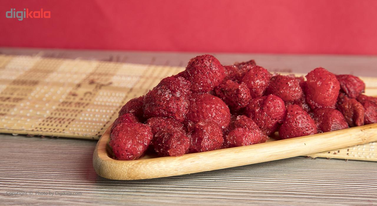 توت فرنگی منجمد نوبر سبز مقدار 400 گرم main 1 1
