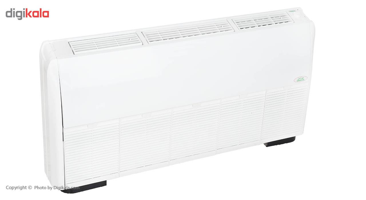 فن کویل مهر اصل مدل لوکس راست با ظرفیت 600 فوت مکعب در دقیقه