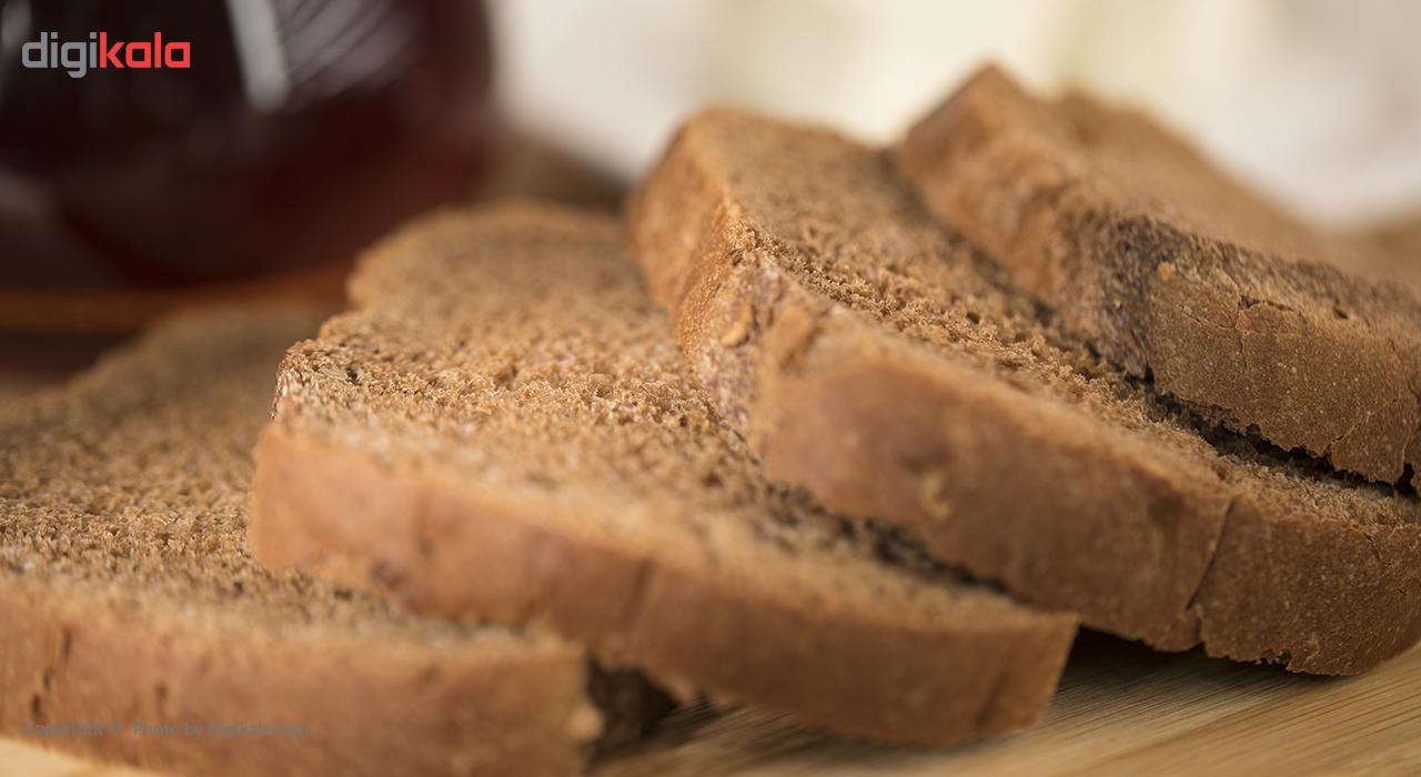 نان تست سیاه نان آوران مقدار 270 گرم