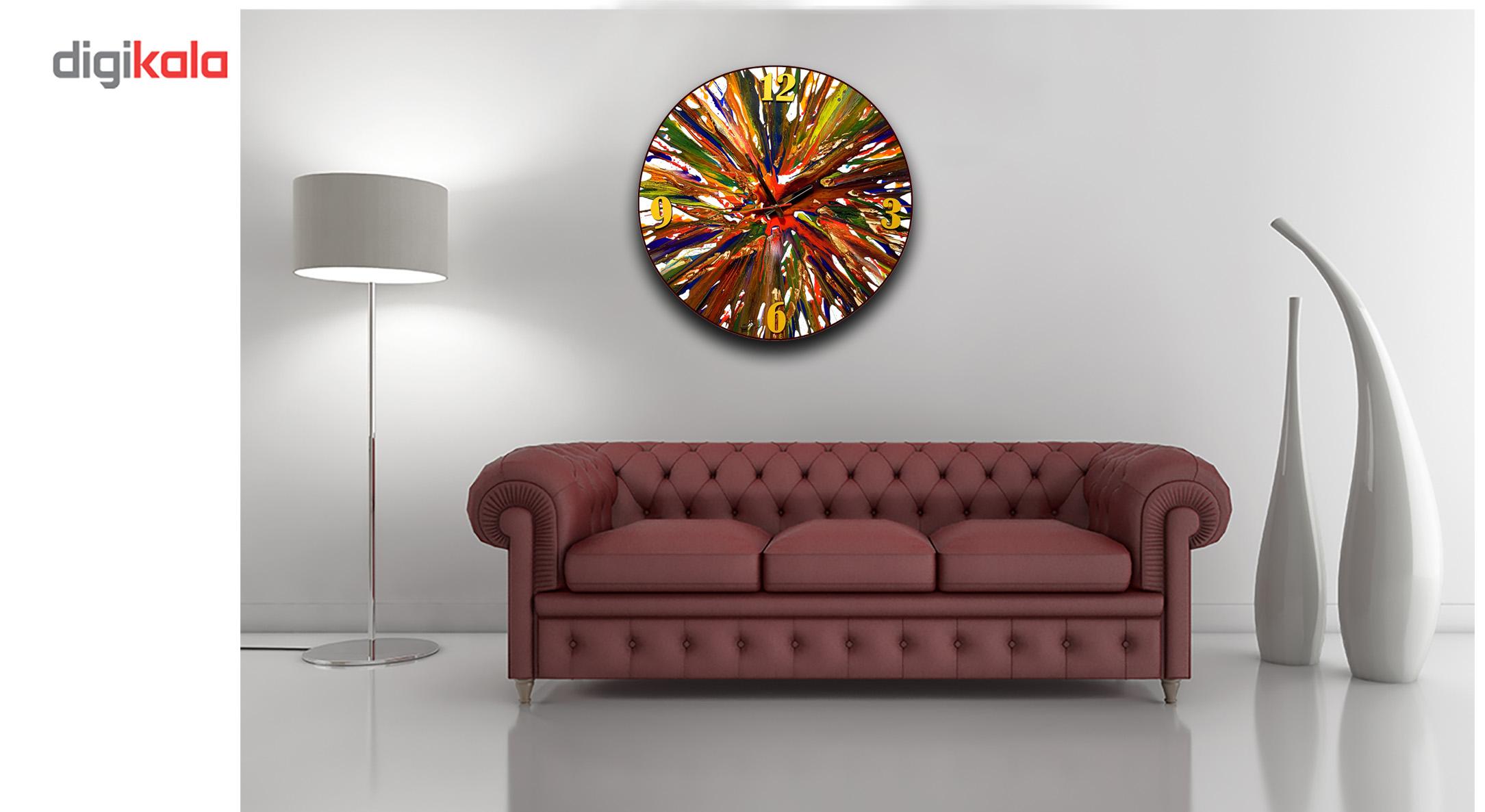 خرید                      ساعت دیواری نقاشی سیتابلو مدل Ts60-10