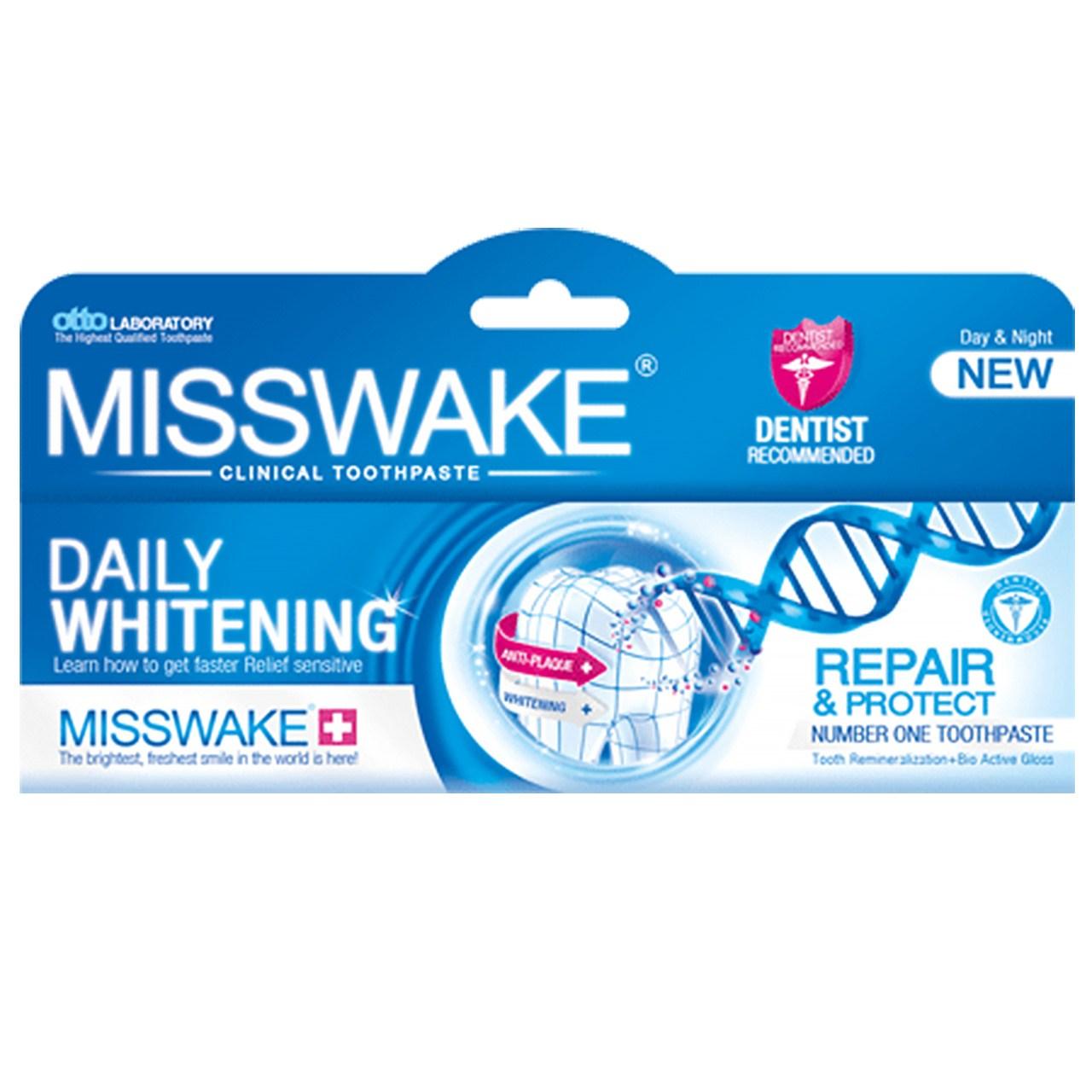 خرید                      خمیر دندان میسویک مدل Daily Whitening حجم 100 میلی لیتر