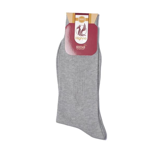 جوراب مردانه نانو آنتی باکتریال هاینو مدل 07-1083