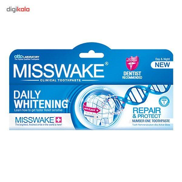 خمیر دندان میسویک مدل Daily Whitening حجم 100 میلی لیتر main 1 1