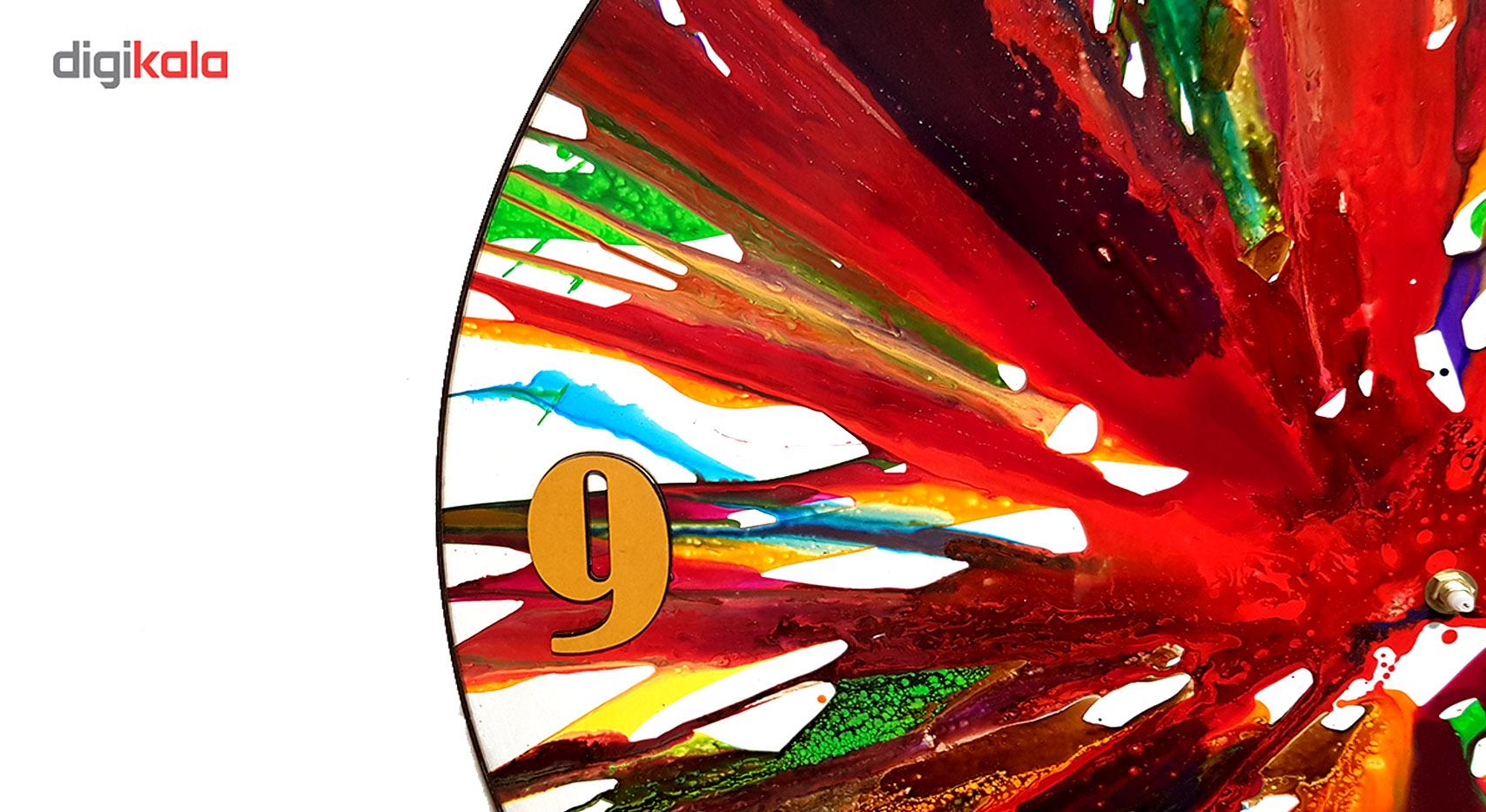 خرید                      ساعت دیواری نقاشی سیتابلو مدل Ts60-16