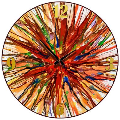 Photo of ساعت دیواری نقاشی سیتابلو مدل Ts60-12