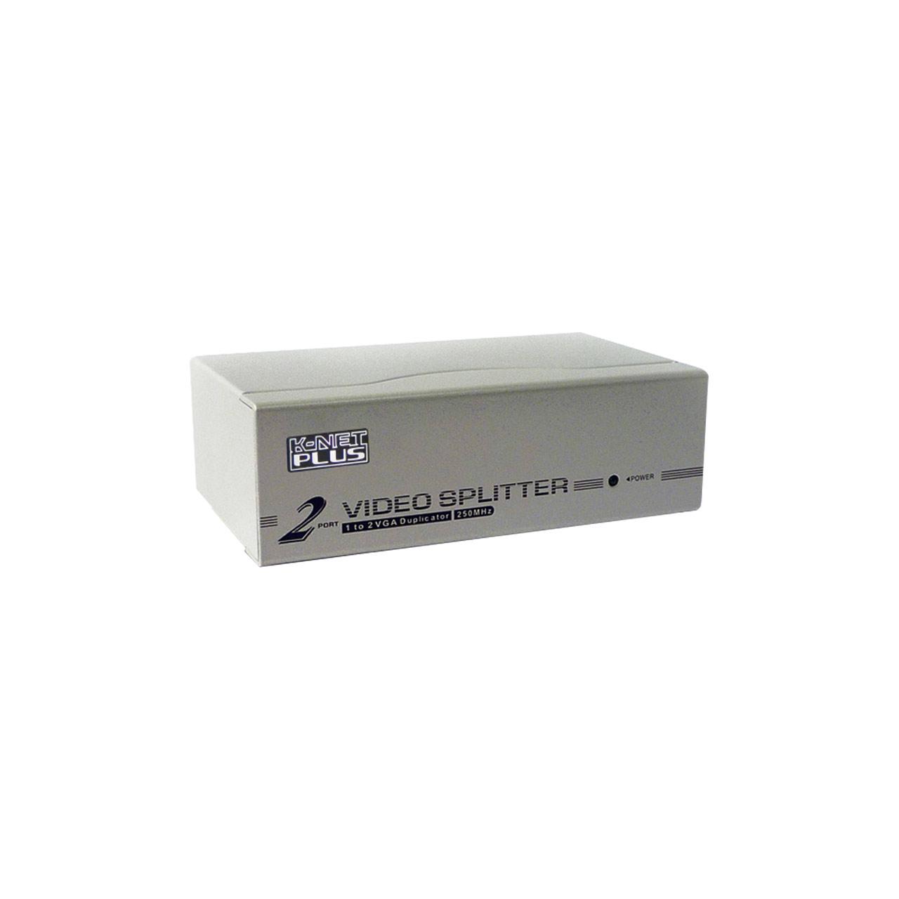 اسپلیتر VGA دو پورت کی نت پلاس مدل KPS632