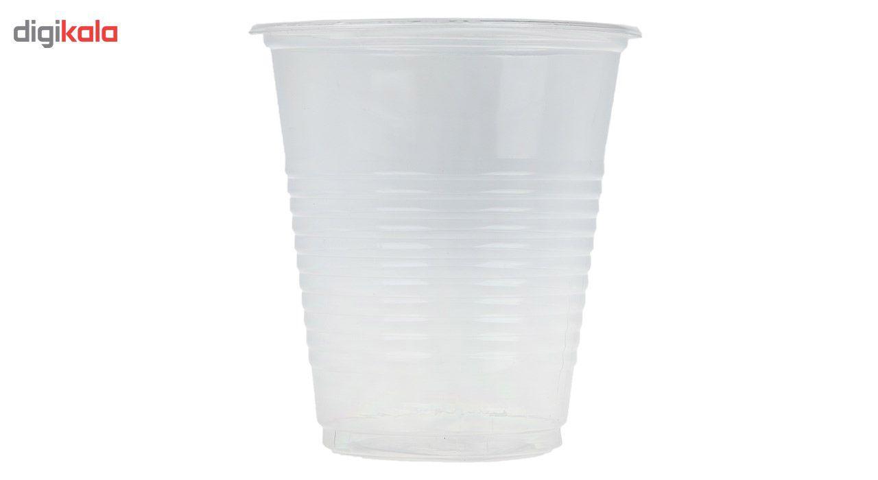 لیوان یکبار مصرف کد 86 بسته 100 عددی  main 1 1