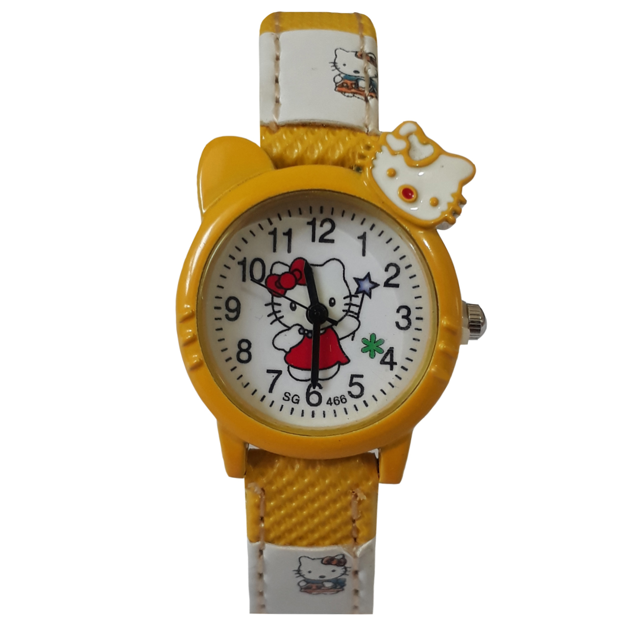 ساعت مچی عقربه ای بچگانه مدل کیتی کد 905