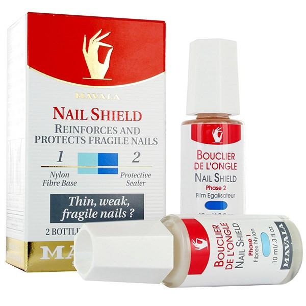 تقویت کننده ناخن ماوالا مدل Nail Shield حجم 10 میلی لیتر