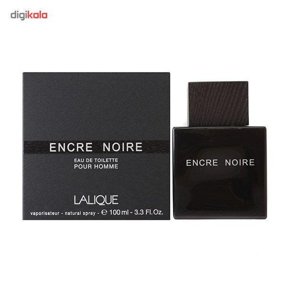 ادو تویلت مردانه لالیک مدل Encre Noire حجم 100 میلی لیتر main 1 3