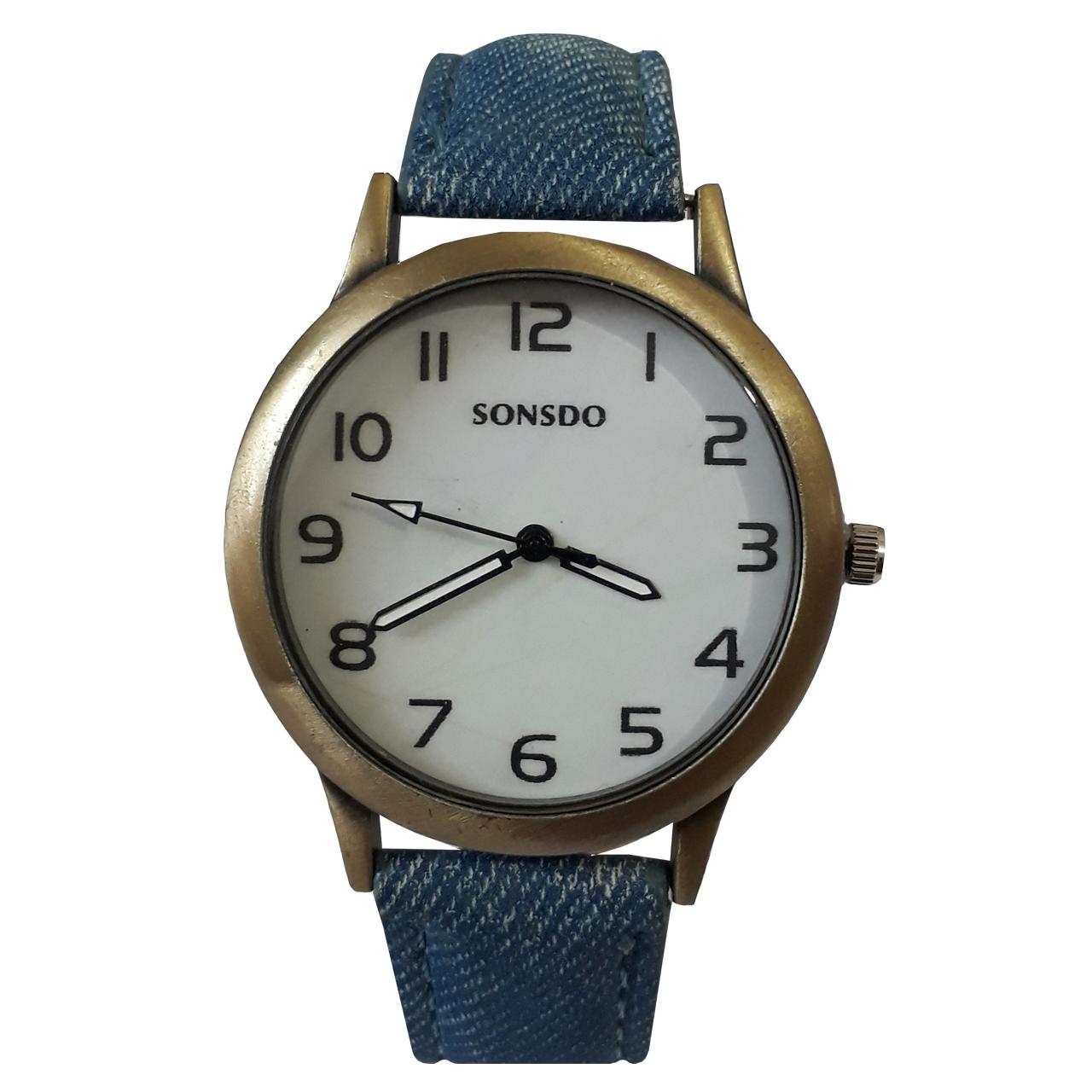 خرید ساعت مچی عقربه ای زنانه سانسدو کد 403