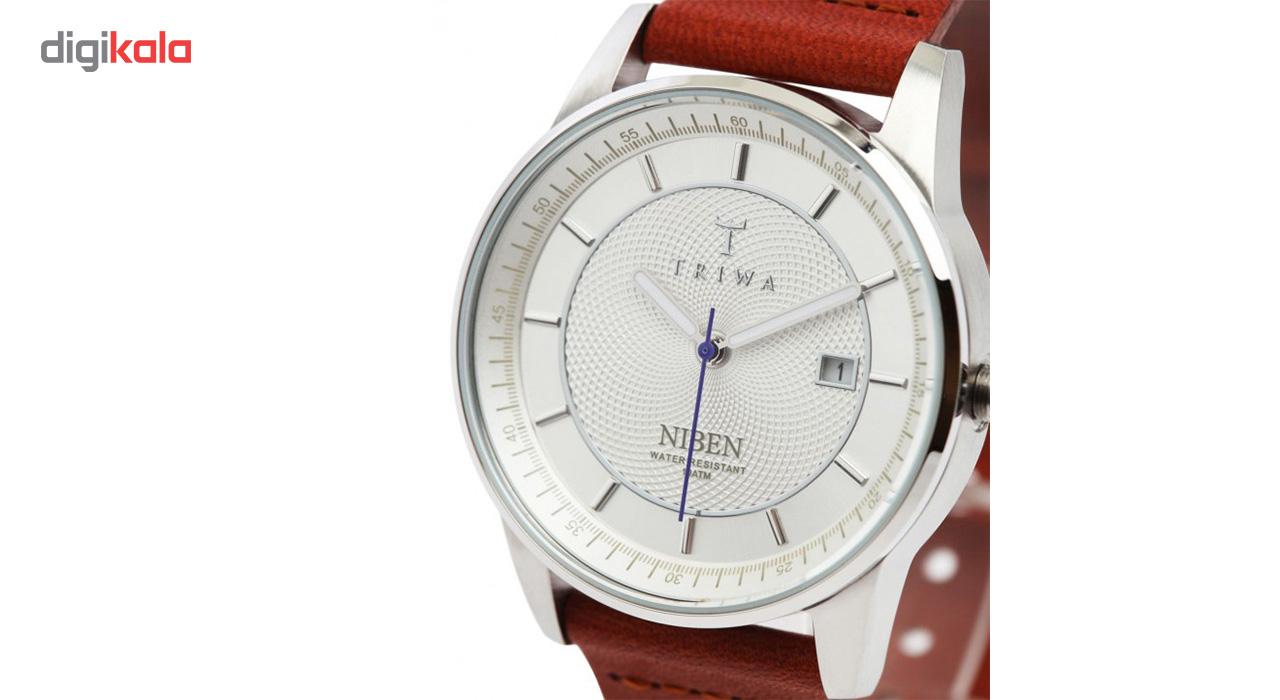 ساعت مچی عقربه ای تریوا مدل stirling Niben