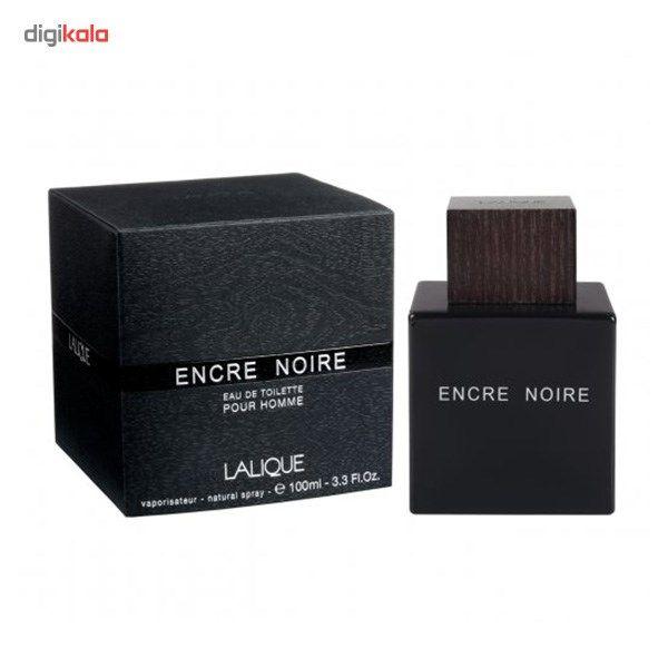 ادو تویلت مردانه لالیک مدل Encre Noire حجم 100 میلی لیتر main 1 4