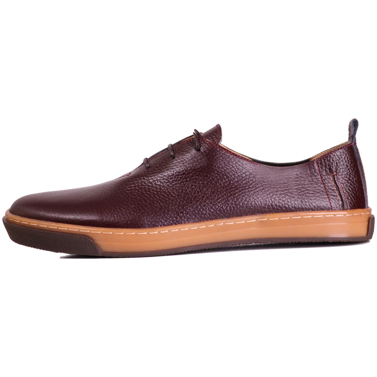 کفش مردانه چرم طبیعی ژاو مدل 1162