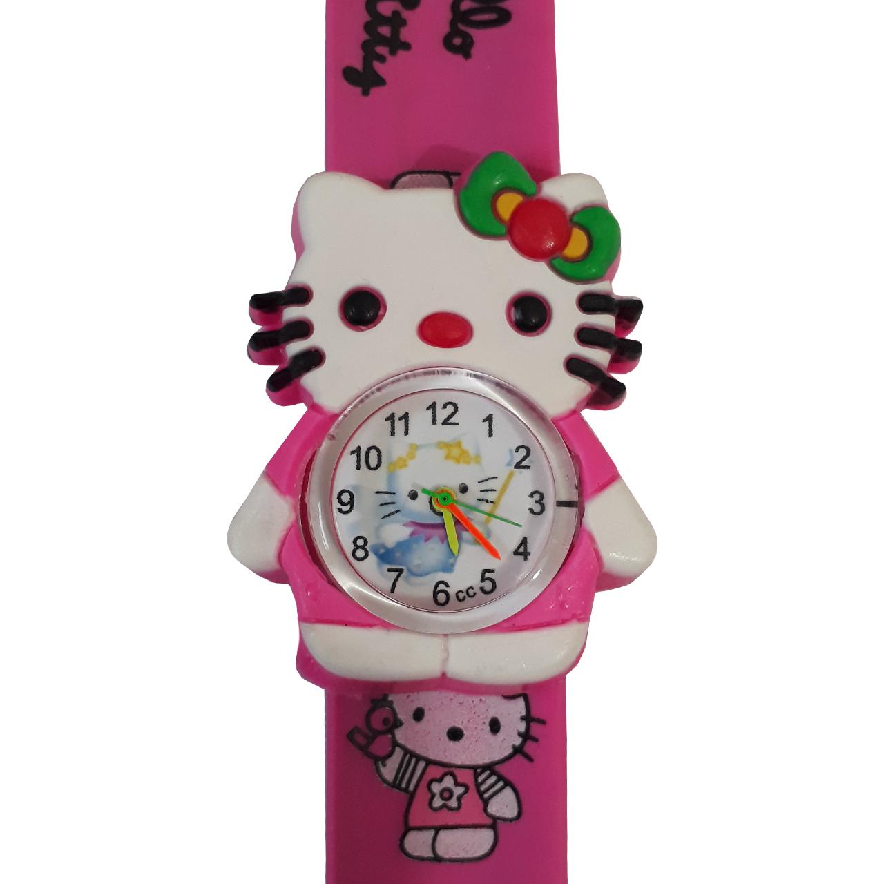 ساعت مچی عقربه ای بچگانه مدل کیتی عروسکی کد 905