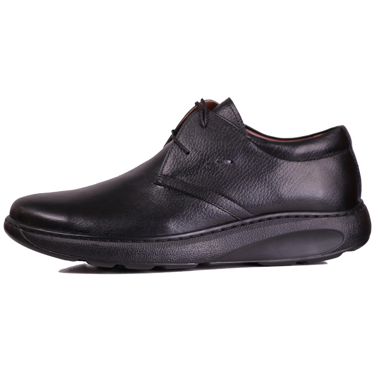 کفش مردانه چرم طبیعی ژاو مدل 2081