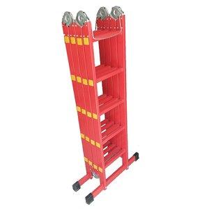 نردبان 20 پله آلیان صنعت مدل تاشو AL4P20