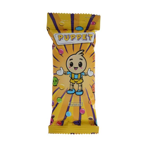دراژه کاکائویی پاپت فرمند - 40 گرم