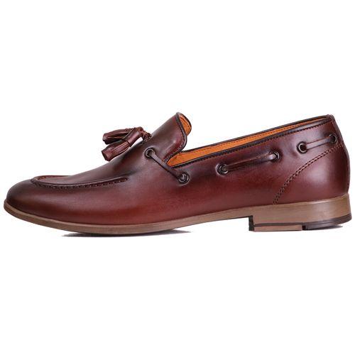 کفش مردانه چرم طبیعی ژست مدل 6022