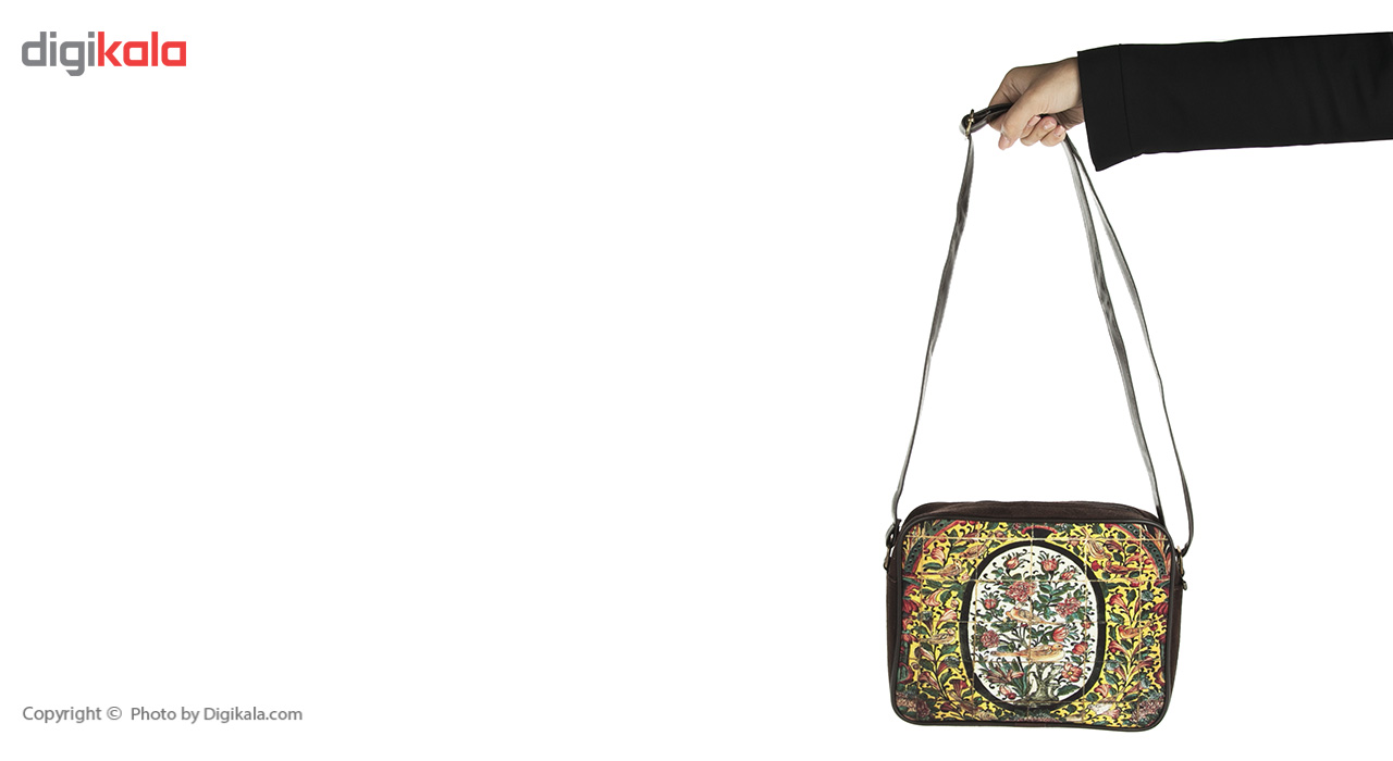 کیف زنانه رو دوشی مدل اشبالتی کد 09