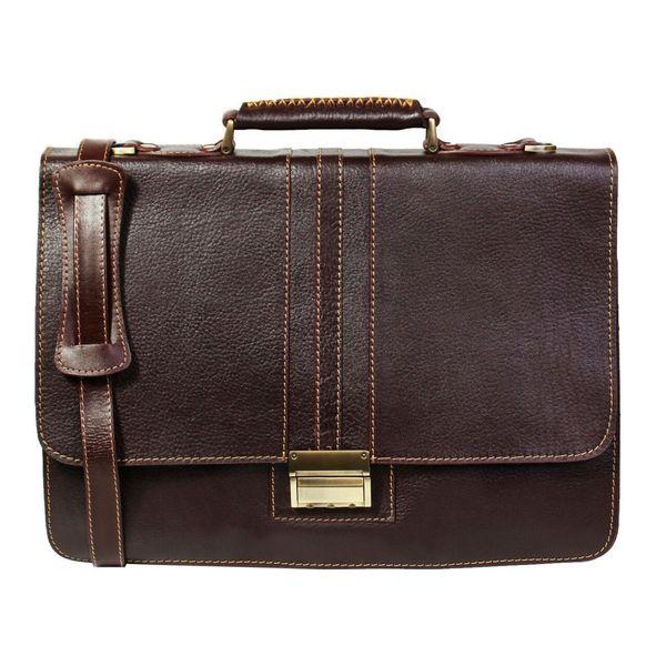 کیف اداری مردانه چرم ناب مدل فلوتر کدE12-12