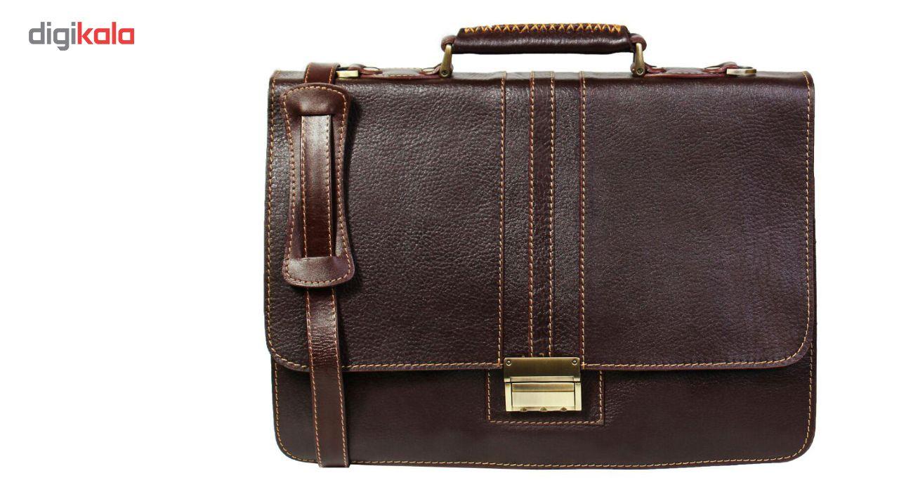 کیف اداری مردانه چرم ناب مدل فلوتر کدE12-12 main 1 1
