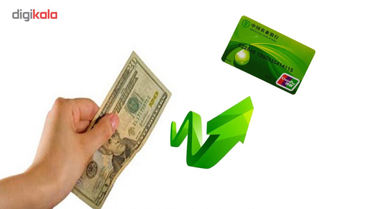 ابزار شعبده بازی مدل تبدیل اسکناس به کارت اعتباری DSK