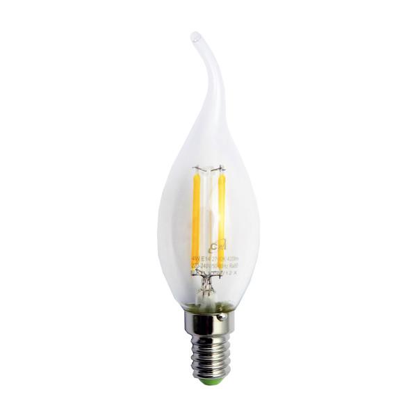 لامپ ال ای دی فیلامنتی 4 وات سی اند آی  پایه E14