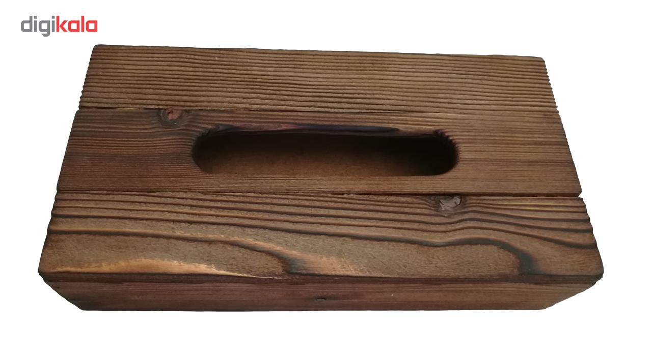 جعبه دستمال کاغذی مدل BOU-J120