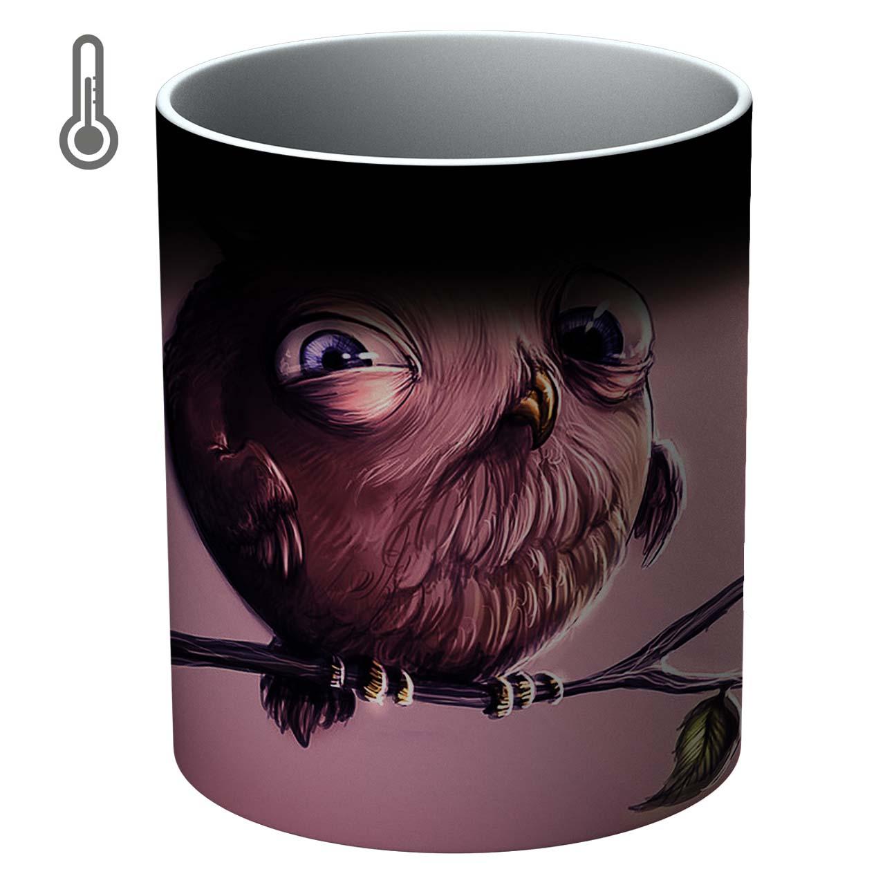 ماگ حرارتی آتوسا مدل جغد Temp Owl 033