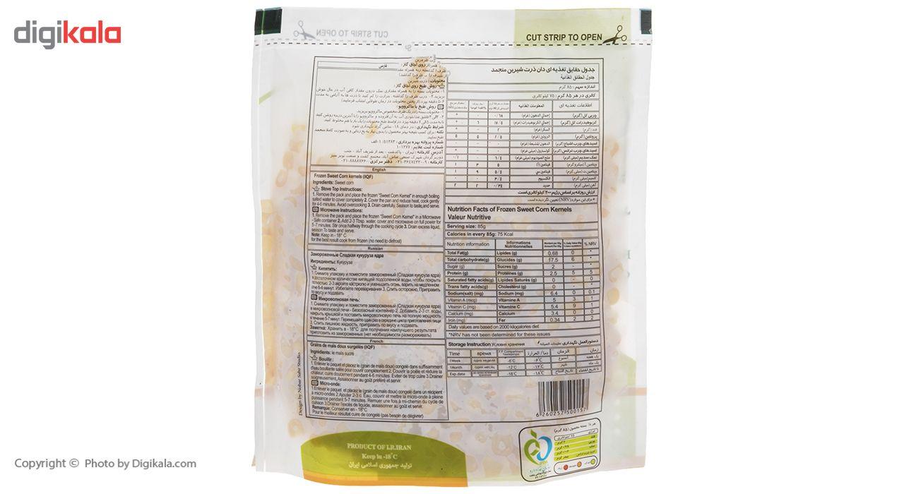 ذرت شیرین منجمد نوبر سبز مقدار 400 گرم main 1 4