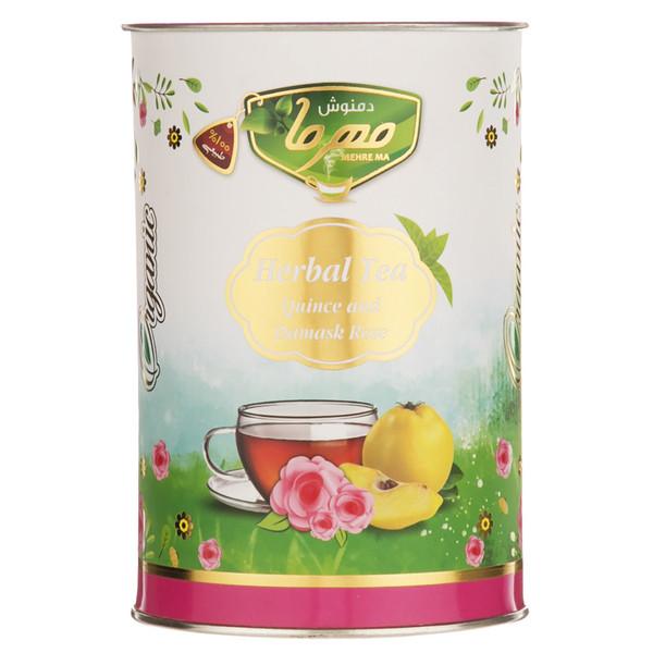 دمنوش به و گل محمدی مهرما مقدار 100 گرم