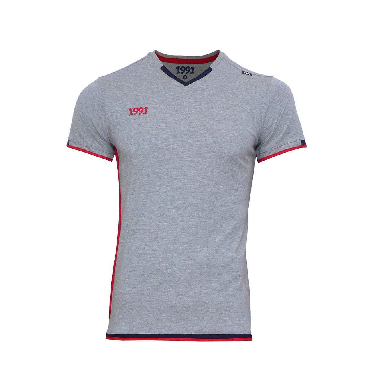 تی شرت مردانه 1991 اس دبلیو مدل Dia Grey