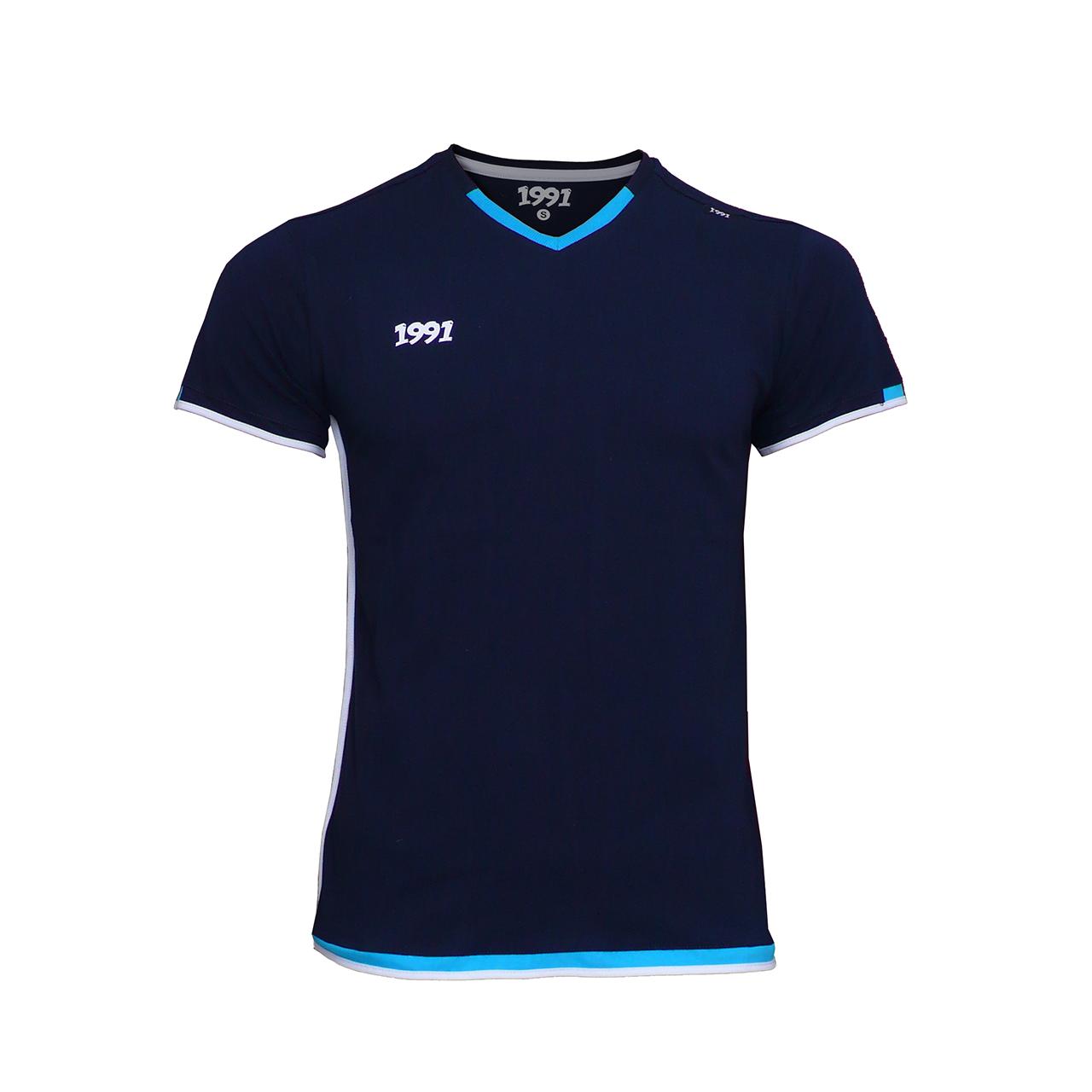 تی شرت مردانه 1991 اس دبلیو مدل Dia Navyblue