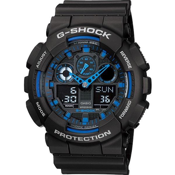 خرید ساعت مچی عقربه ای مردانه کاسیو جی شاک GA-100-1A2DR