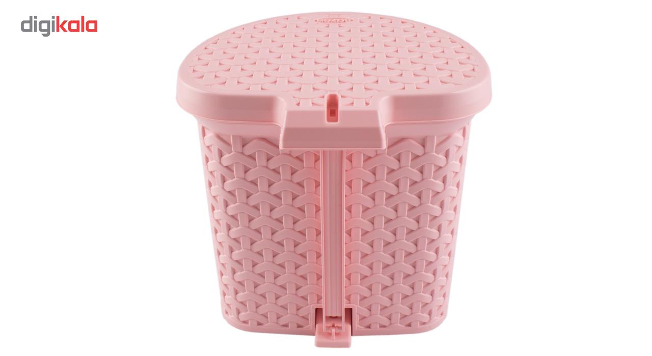سطل زباله پدالی بازن مدل لایف main 1 5