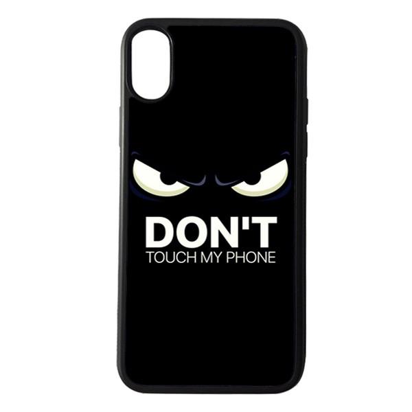 قاب گوشی مدل dont touch مناسب برای گوشی موبایل اپل iphone x