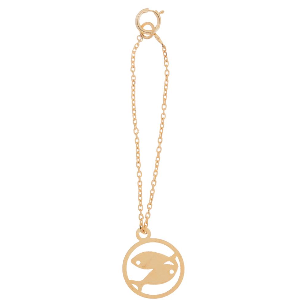 آویز ساعت طلا 18 عیار درنیکا مدل Dw2100
