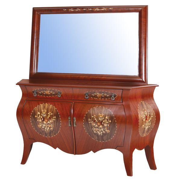 آینه و کنسول مدل خمره ای کد ۱۲۷