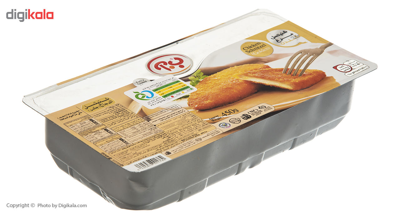 شنیسل مرغ طلایی ب.آ مقدار 450 گرم main 1 3