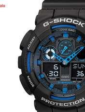 ساعت مچی عقربه ای مردانه کاسیو جی شاک GA-100-1A2DR -  - 1