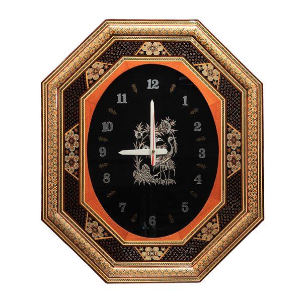 ساعت دیواری خاتم کاری کد dkh67