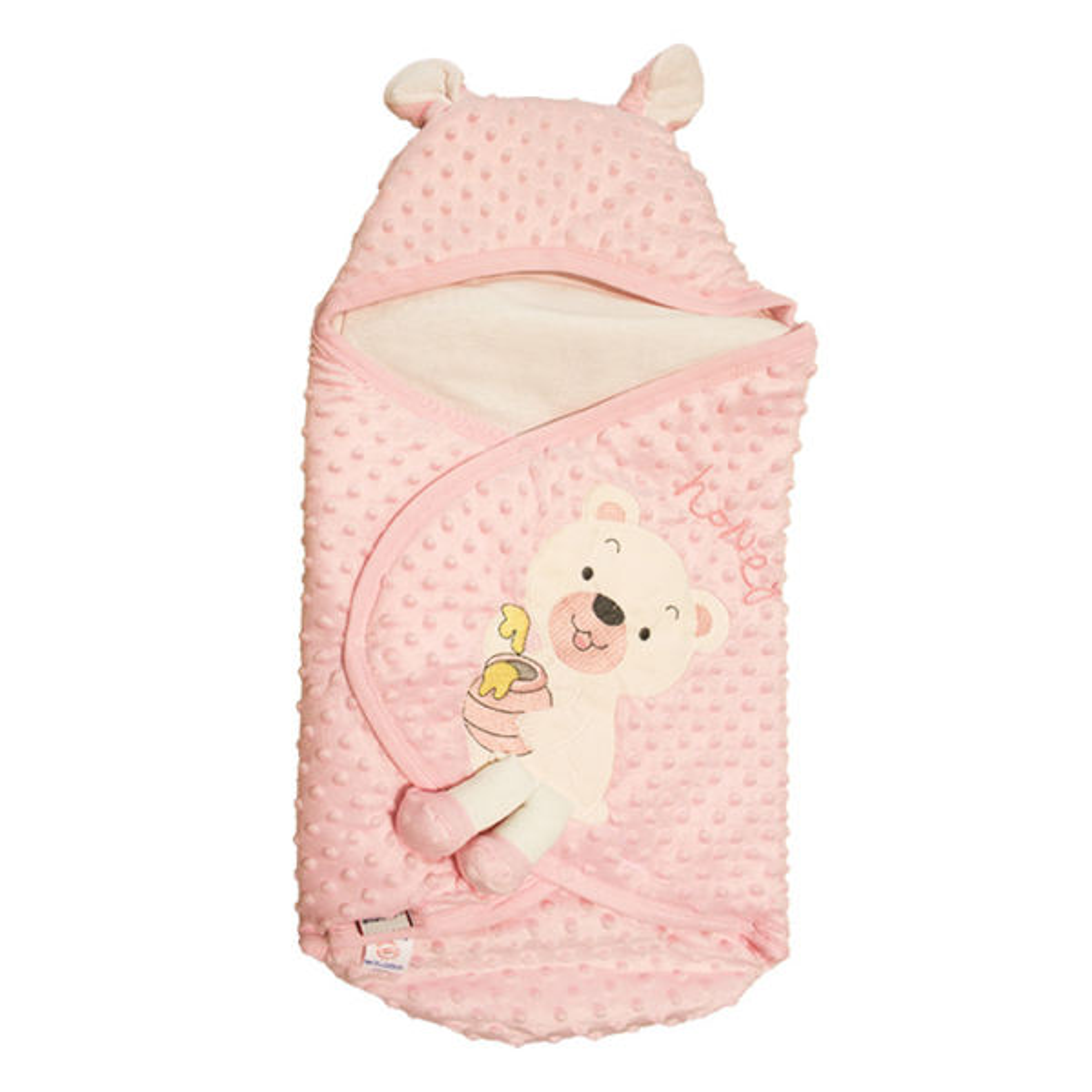 پتو قنداق نوزادی مدل 4505 Pink