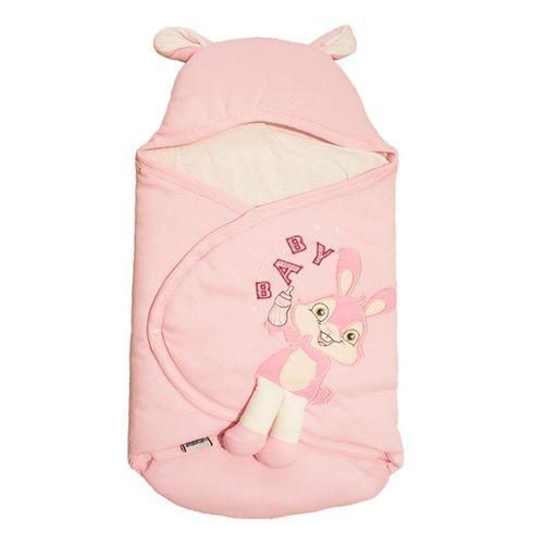 پتو قنداق نوزادی مدل 4501 Pink