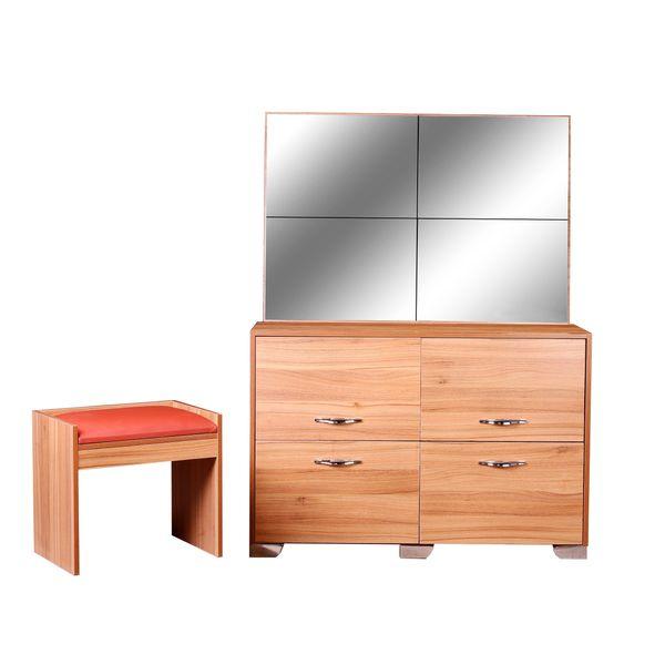 میز آرایش آینه و نشیمن لمکده مدل افس