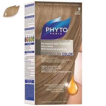 کیت رنگ مو فیتو مدل PHYTO COLOR شماره 8