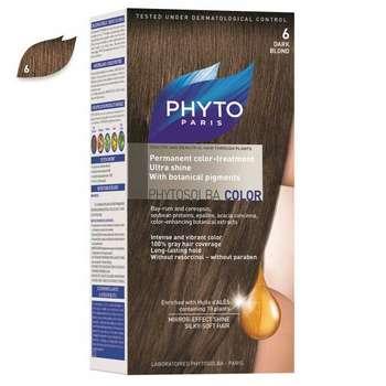 کیت رنگ مو فیتو مدل PHYTO COLOR شماره 6