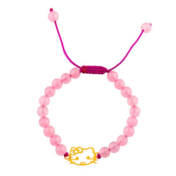 دستبند طلا 18 عیار مدل کیتی