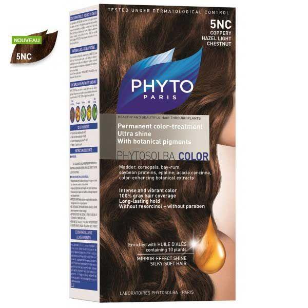 کیت رنگ مو فیتو مدل PHYTO COLOR شماره 5NC حجم 40 میل
